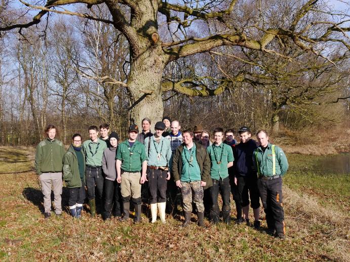 Forsteinsatz Knauheide 2015
