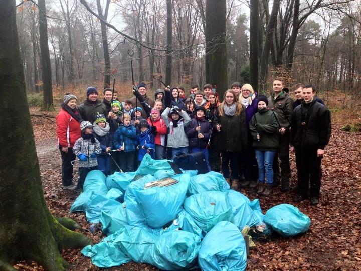 Müllsammelakton 2015